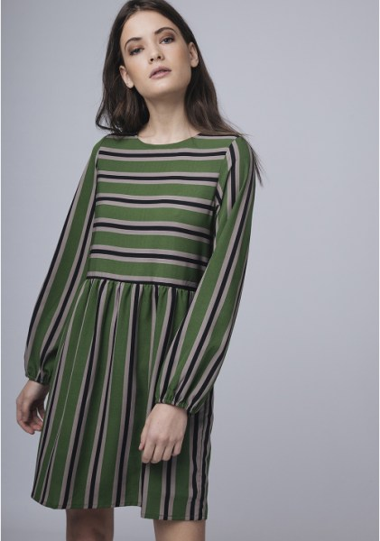 l-appartamento-rimini-compania-fantastica-abito-dress-verde-righe-stripes-green