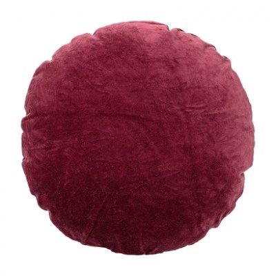 l-appartamento-rimini-cuscino-cushion-red-velvet-velluto-rosso-tondo-bloomingville-design