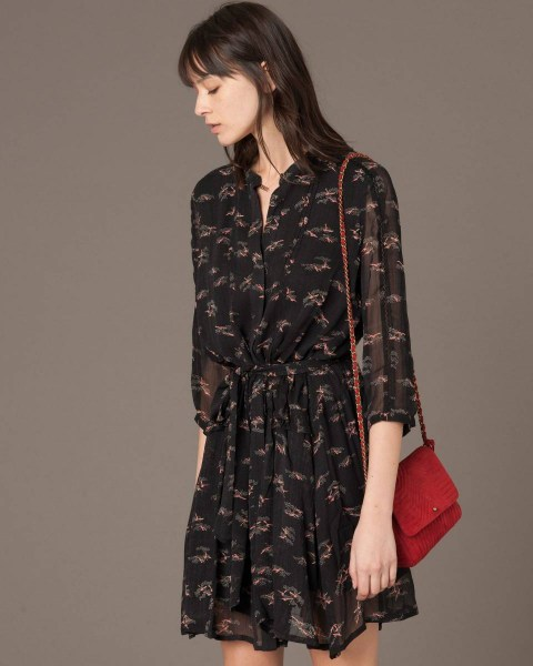 l-appartamento-rimini-dress-silk-pattern-sessun-black-nero-abito-michiki-black-1