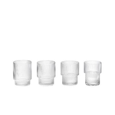 l-appartamento-rimini-ferm-living-carafe-ripple-glass-biccheri-glasses-kitchen-danish-design