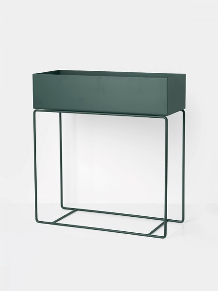 l-appartamento-rimini-ferm-living-plant-box-dark-green-vase-plant-stand-holder-danish-design-1