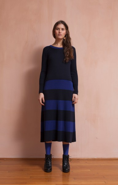 l-appartamento-rimini-military-dress-sartoria-vico-wool-lana-handmade-blue-stripes