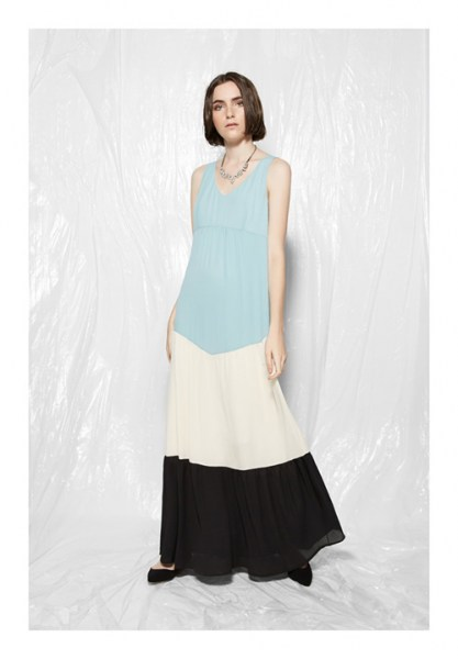 l-appartamento-rimini-rue-bisquit-abito-dress-lungo-long-color-block-light-blue-white-black