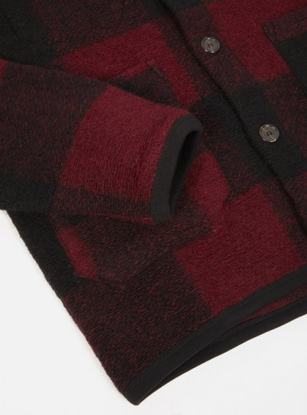 l-appartamento-rimini-universal-works-cardigan-wool-fleece-jacket-giacca-check-red-2
