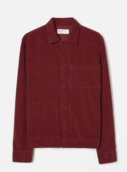 l-appartamento-rimini-universal-works-uniform-shirt-velluto-velvet-red